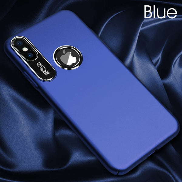 Luxury Ultra-thin Protective Metal Lens Case For iphone X 8 7 6 6s Plus