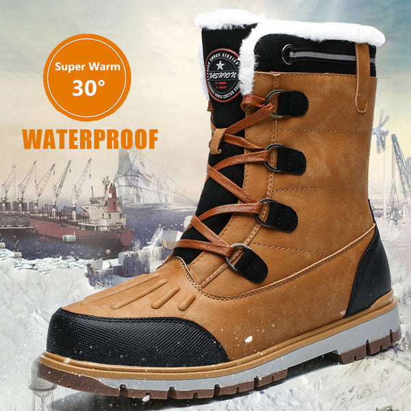 Waterproof Super Warm Men's Motorcycle Boots(BUY 2PCS TO GET 10% OFF)