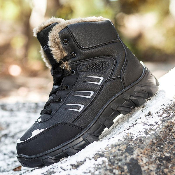 Men Ankle Boots Winter Warm Outdoor Shoes