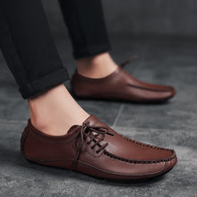 Load image into Gallery viewer, New Big size Cow Leather Men Casual Loafers(BUY 2 TO GET 10% OFF)