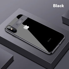 Load image into Gallery viewer, Epectroplating Clear Phone Case For iPhone X