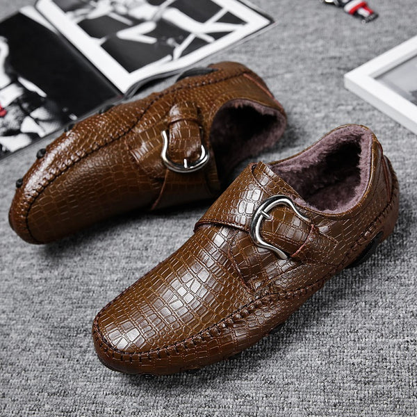 Large Size Business Men Driving Casual Shoes