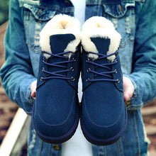 Load image into Gallery viewer, Big Size Unisex Warm Lace-Up Thick Snow Boots