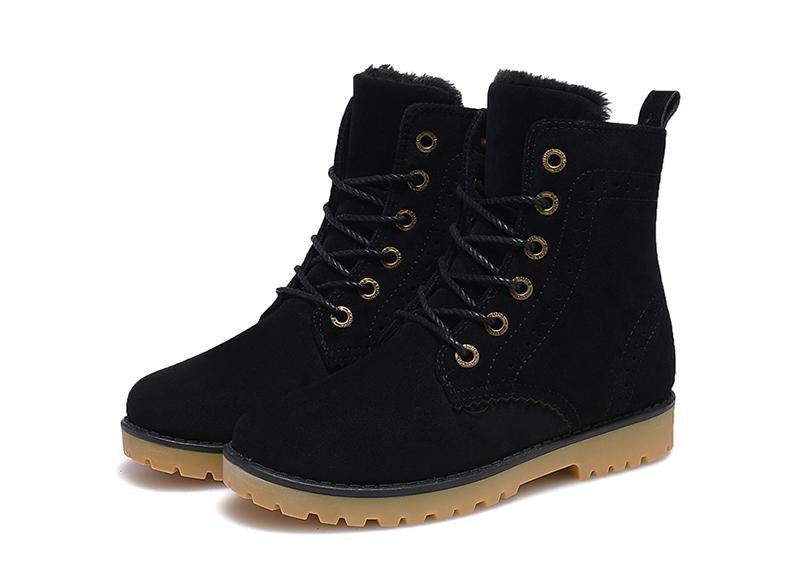 Size 35-44 Winter Warm Casual Shoes Men Boots