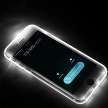 Load image into Gallery viewer, LED Flash Light Calling Notice Case for iPhone
