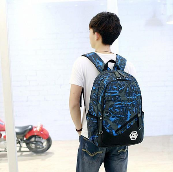 Bags - Waterproof Oxford Fabric Boys School Bags Backpack