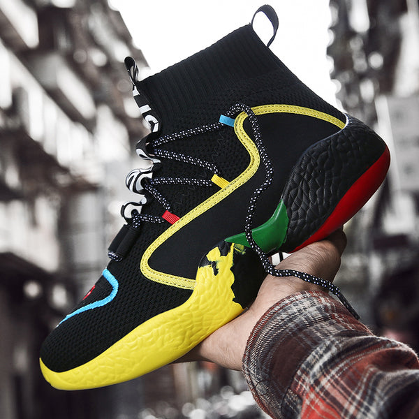 Hiphop Pharrell Williams Elasticity Basketball Sneaker(BUY 2PCS TO GET 10% OFF)
