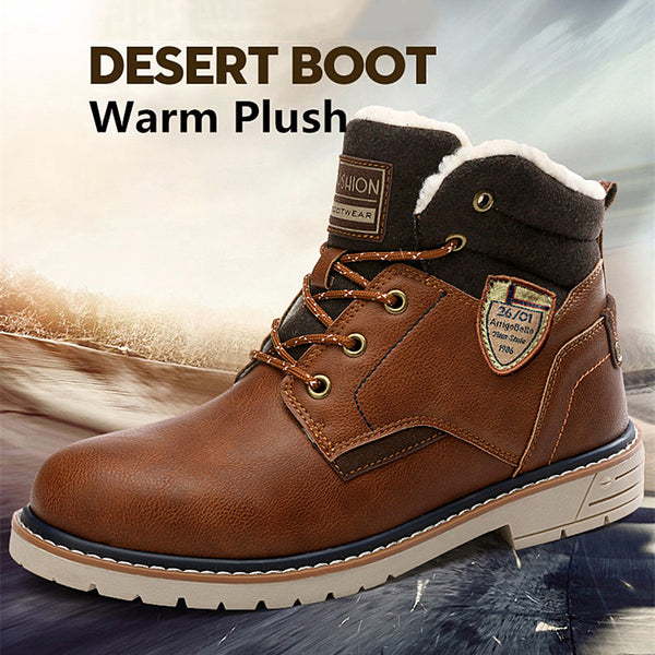 New Waterproof Men's Leather Ankle Boots(BUY 2PCS TO GET 10% OFF)