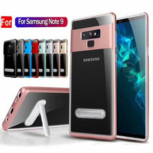Load image into Gallery viewer, Luxury Hybrid Kickstand Clear Cases for Samsung Galaxy Note9/8 S9/8/7