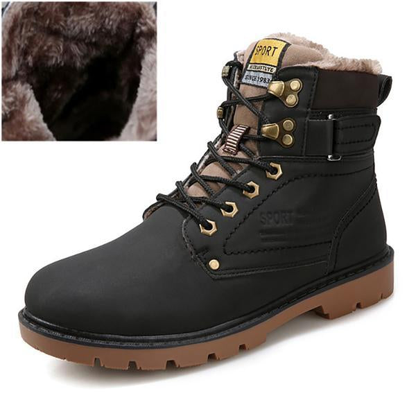 Warm Waterproof Martin Military Boots