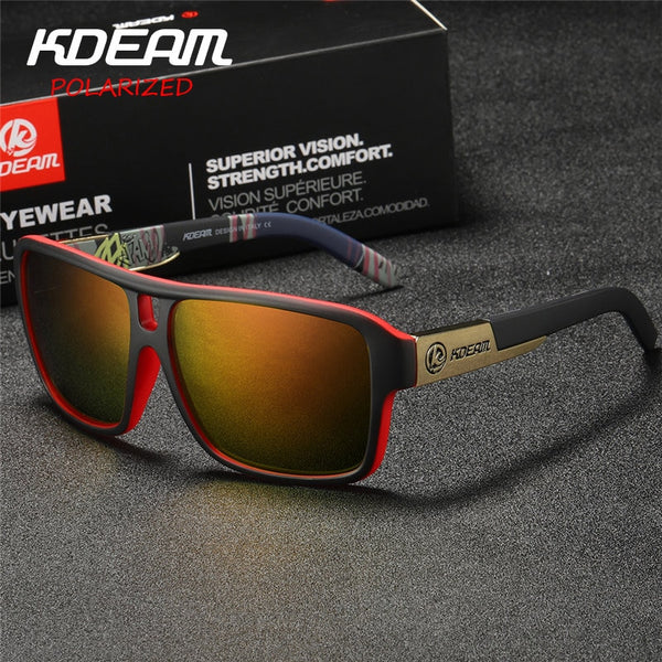 New Mirror Sunglasses Men Sports Polarized Glasses(BUY 2PCS TO GET 10% OFF)