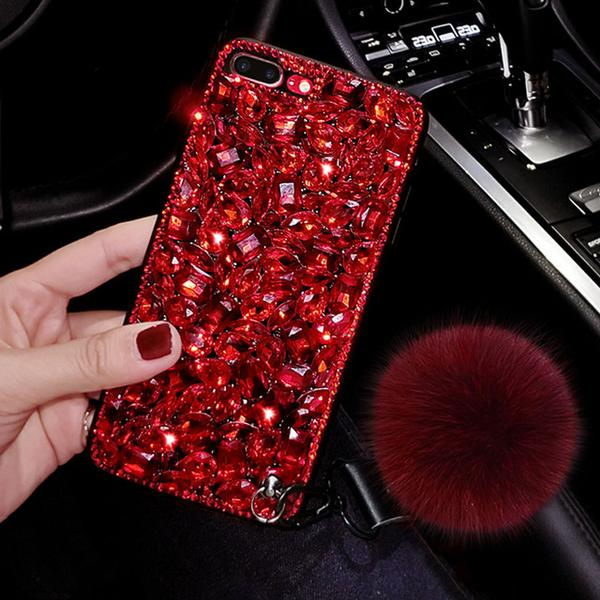 Bling Rhinestone Ball Phone Case