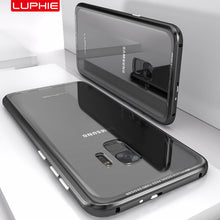 Load image into Gallery viewer, Luxury Transparent Metal Bumper Case For Samsung /S9/S8 Plus(BUY 2PCS TO GET 15% OFF)