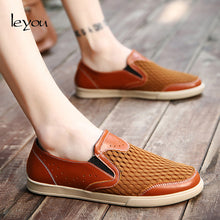Load image into Gallery viewer, Plus Size Air Mesh Breathable Casual Driving Shoes