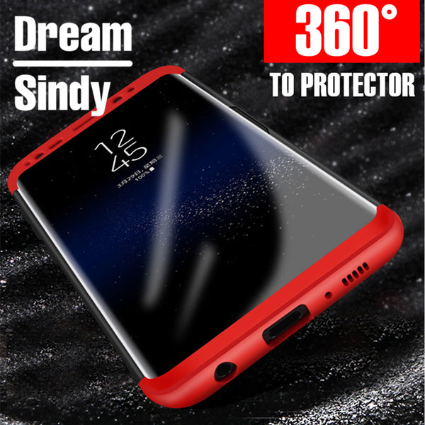360 Degree Protection Hard Full Case For Samsung