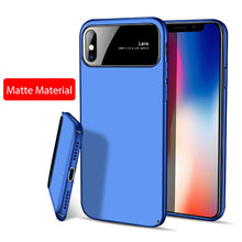 Load image into Gallery viewer, Luxury Clear Mirror Shockproof Case For iPhone X 8 7 Samsung Galaxy S9 Plus