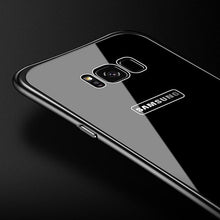 Load image into Gallery viewer, Luxury Hybrid Metal Frame+Tempered Glass Case for Samsung Galaxy Note8 S8 S8Plus