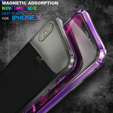 Load image into Gallery viewer, Luxury Metal Magnetic Adsorption Case for iPhone X/7/8 Plus(BUY 2PCS TO GET 15% OFF)