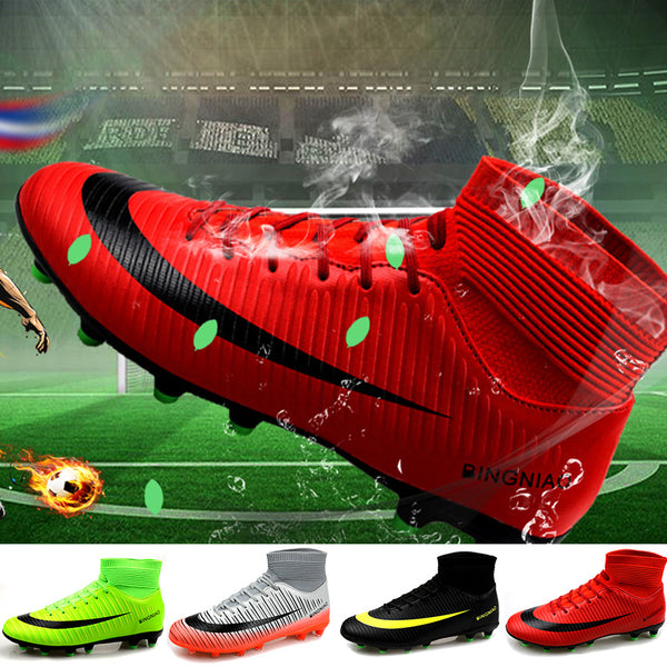 Professional Training Football Soccer Men Cleats Boots(BUY 2 TO GET 10% OFF)