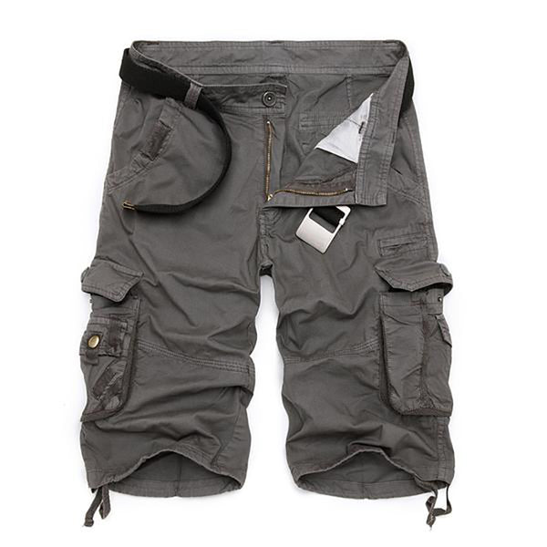 Men Cargo Casual Loose Shorts
