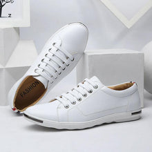 Load image into Gallery viewer, Low Top Breathable Leather Business Casual Shoes
