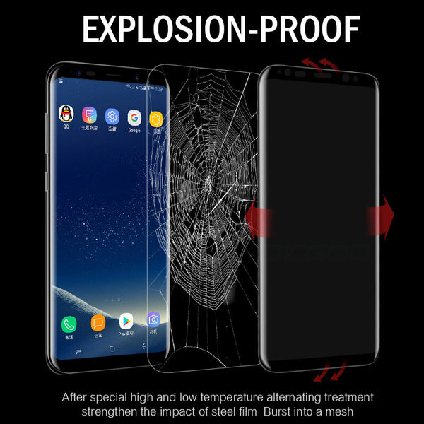 4D Full Cover Screen Protector Film For Samsung Galaxy S9/S8/S7 Edge(BUY 2PCS TO GET 15% OFF)