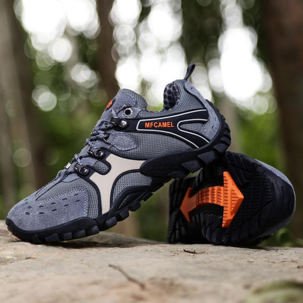 Male Camping Training Outdoor Sport Trail Hiking Shoes(BUY 2 TO GET 10% OFF)