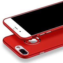 Load image into Gallery viewer, Luxury Soft Silicone + Metal Bumper Case For Iphone