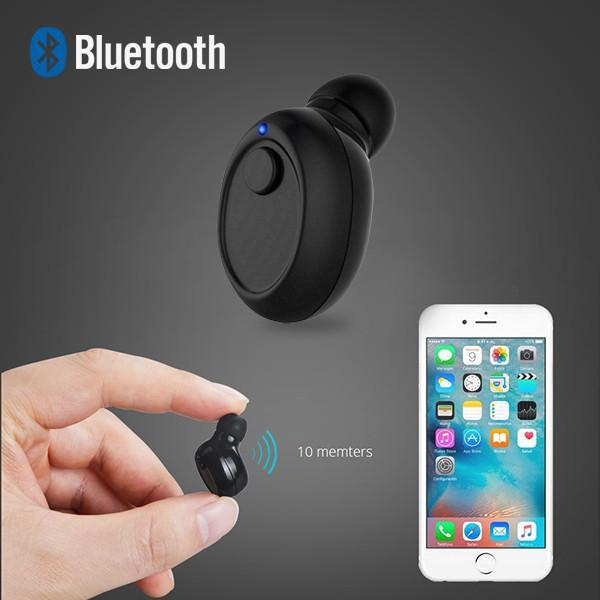 Earphone -2017 New Multi-Function Mini Bluetooth Earbud With Mic