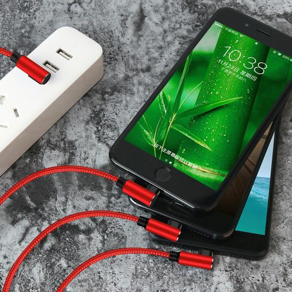 3 in 1 USB Fast Charging Data Cable( BUY 2PCS TO GET 15% OFF )