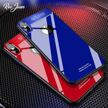 Load image into Gallery viewer, Hard 9H Glass Case for iPhone X 10