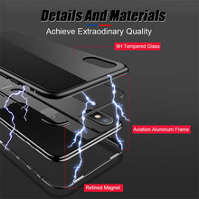 Load image into Gallery viewer, Magnetic Adsorption Metal Hard Case for iPhone X/8/7 Plus(BUY 2PCS TO GET 15% OFF)