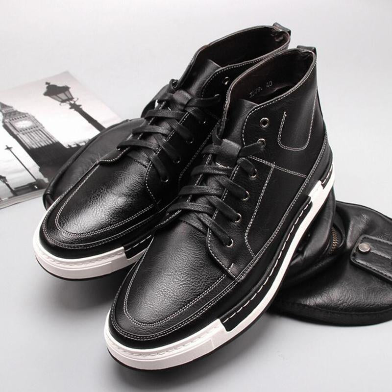 Fashion Korean Style Lace Up High Top Casual Shoes