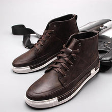 Load image into Gallery viewer, Fashion Korean Style Lace Up High Top Casual Shoes