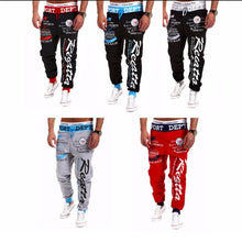 Load image into Gallery viewer, Mens Letter Printing Baggy Pants