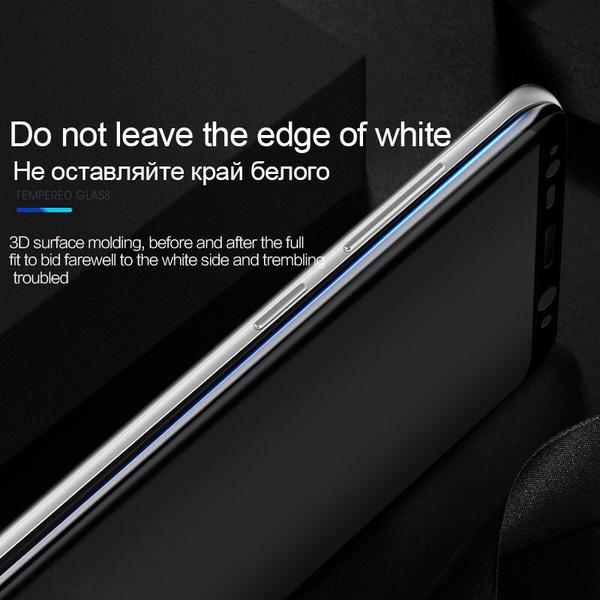 Luxury 3D Round Edge Tempered Glass For Galaxy Note 8/S8/S8PLUS