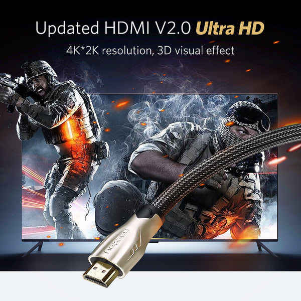 Adapter 4K 3D 1080P  HDMI Cable For Apple TV Nintendo Switch LCD PS3 PS4 Projector PC