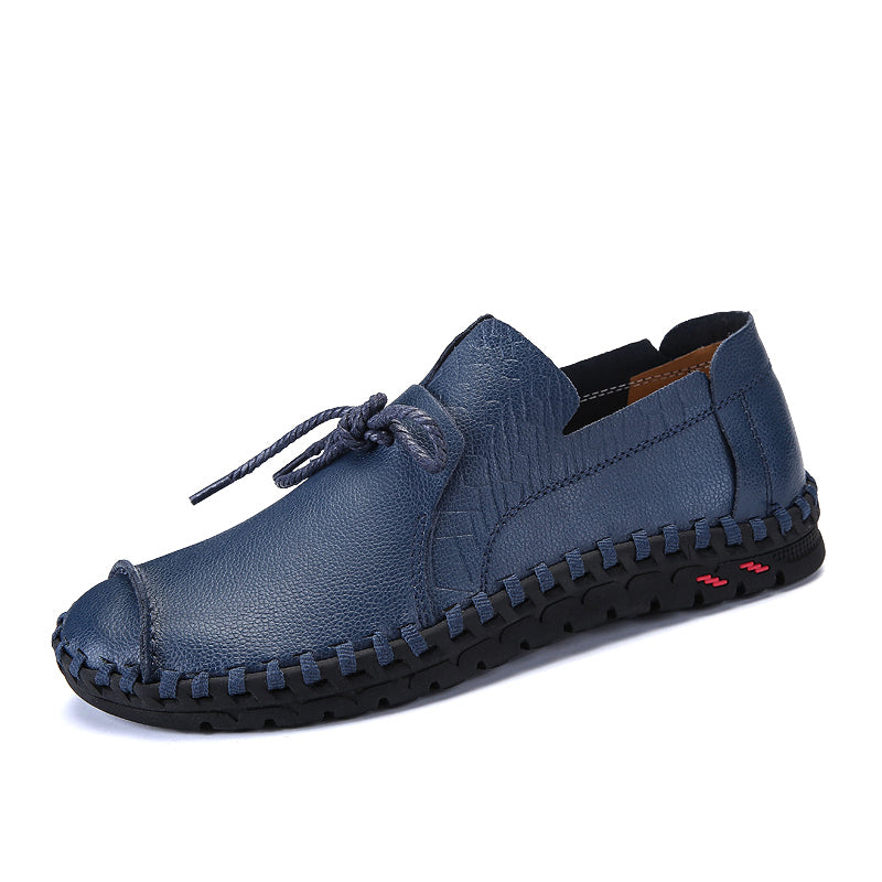 New Fashion Casual Shoes Men Lace Up Flats
