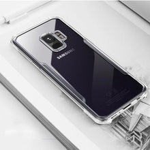 Load image into Gallery viewer, Luxury Airbag Dropping Clear TPU Acylic Shockproof Back Case for Galaxy