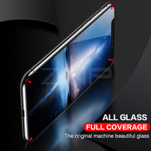 Load image into Gallery viewer, 5D Curved Premium Tempered Glass For iPhone X 8 8 Plus 7 6S 6