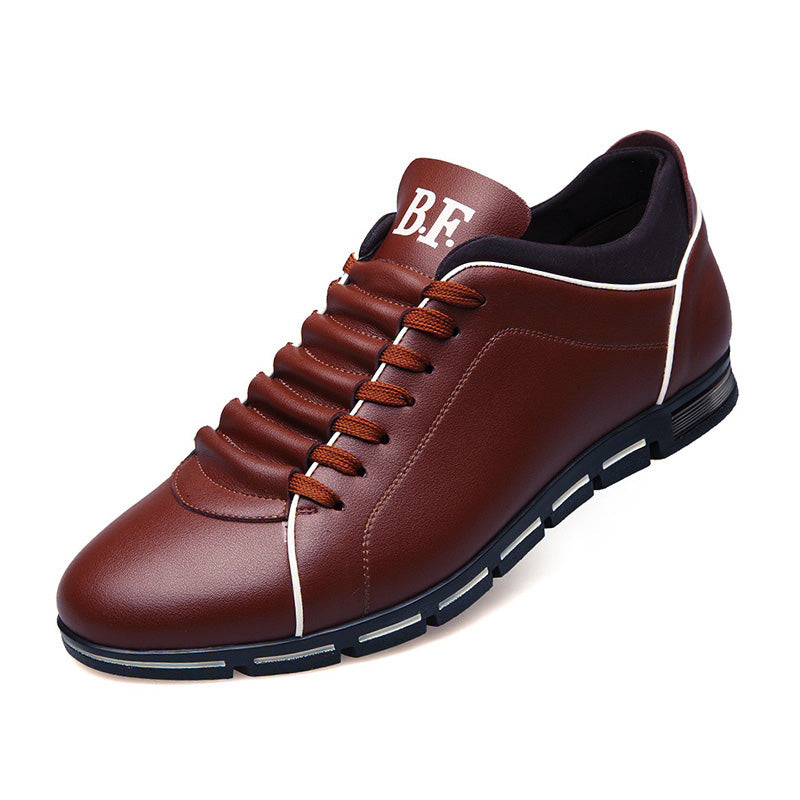 2018 Luxury Leisure Men Lace-up Leather Shoes(BUY 2PCS TO GET 10% OFF)