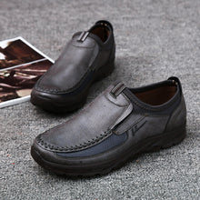 Load image into Gallery viewer, Plus Size Men Slip On Leather Shoes(BUY 2PCS TO GET 10% OFF)