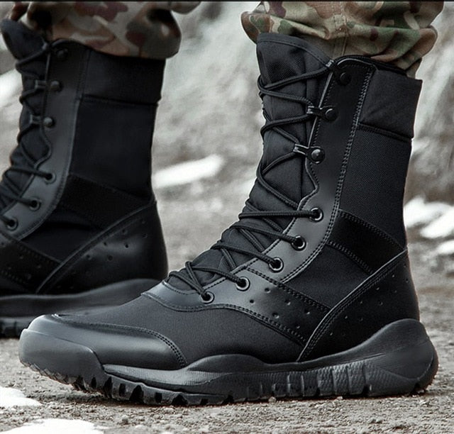 Summer Lightweight Men Mesh Army Combat Boot(BUY 2 TO GET 10% OFF)