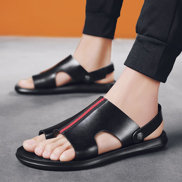 Leather Sandals Men Comfortable and Lightweight Shoes(BUY 2 TO GET 10% OFF)