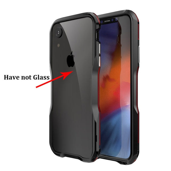Shockproof Metal Bumper Case for iPhone X/XR/XS MAX(BUY 2 TO GET 10% OFF)