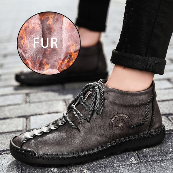 2019 Handmade Men Waterproof Leather Boots(BUY 2PCS TO GET 10% OFF)