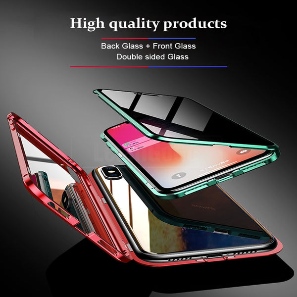 Anti-peeping Magnetic Case For iphone Xs Max/X/Xs(BUY 2PCS TO GET 10% OFF)