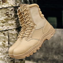 Load image into Gallery viewer, Waterproof Work Safety Men Military Genuine Leather Boots(BUY 2PCS TO GET 10% OFF)