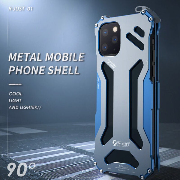 Luxury Metal Armor Case For iPhone 11/11 Pro 11/Pro Max(BUY 2pcs TO GET 10% OFF)