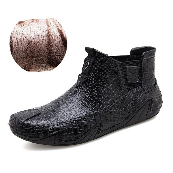 Luxury Men's Hand-stitched Leather Boots(BUY 2PCS TO GET 10% OFF)